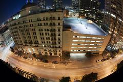 Los Angeles. (Charlie_Nunez) Tags: city longexposure skyline night digital photography losangeles los nikon long exposure downtown angeles tripod nighttime d200 dtla nightshooter tripof