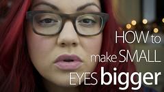 New video! How to make small eyes bigger (cw3283) Tags: thumbnails thumbnail youtube