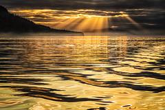The amazing sunset