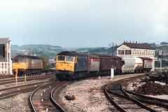 47341 (Sparegang) Tags: 47341 class47 473 speedlink newtonabbot brushtype4 britishrail westernregion brblue