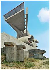 1407 atlantikwall visitor center 03 (Klaas5) Tags: architecture study architektur architectuur studie vormgeving designstudy picturebyklaasvermaas ontwerpstudie designbyklaasvermaas