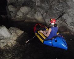 084 Narrow Navigation (saschmitz_earthlink_net) Tags: california creek floating inflatable cave raft cavern naturalbridges 2014 coyotecreek calaverascounty vallecito newmeloneslake nsswesternregional lowernaturalbridge