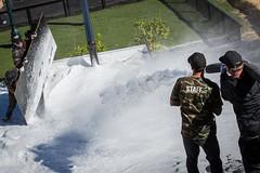 The HDHR Set up Gets Sprayed