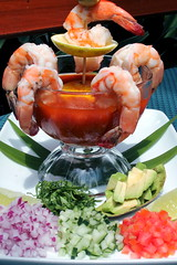 Mexican Shrimp Cocktail (Laura Gelezunas) Tags: pictures food dinner canon mexico photography restaurant foods yum photos pics eating picture tasty shrimp pic fresh gourmet delicious eat hungry appetizer shrimpcocktail foodie delish foodgasm laura puertovallarta foodphotography gelezunas foodpics foodporn foodpic theblueshrimp