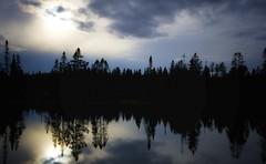 L'heure Bleu (Renald Bourque) Tags: blue canada nature quebec bleu paysage monttremblant renaldbourque