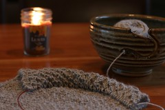 :: slow sunday :: (www.contemplatingtheexquisite.typepad.com) Tags: morning knitting solitude quiet ritual sundaymorning