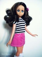 MOD Michelle doll (Brani's fashion dolls) Tags: vintage italian mod doll dolls michelle barbarella twiggy