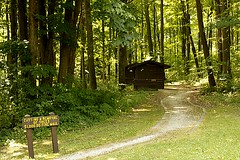 Maribel Caves Park (wards work) Tags: park men wisconsin womens caves historical maribel outhouses manitowoc 4wwc