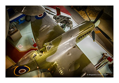 Spitfire F Mk. 24 (frattonparker) Tags: raw hampshire spitfire southampton cs6 nikond7000 colorefexpro4 nikkor18200mmvrzoom btonner frattonparker httpwwwsolentskymuseumorg
