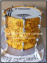marching to the beat (The Whole Cake and Caboodle ( lisa )) Tags: cakes cake 21 drum 21st whangarei birthdaycakes rockshop caboodle thewholecakeandcaboodle adultbirthdaycakeswhangarei birthdaycakeswhangarei
