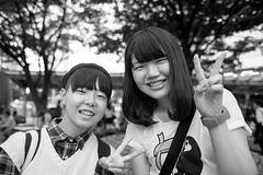 Kobe Sannomiya 101 (momoto0) Tags: street portrait bw canon eos blackwhite 28mm 5d monochrom f18 markii ef28mmf18 eos5dmarkii