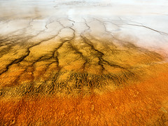 Grand Prismatic Spring, Yellowstone National Park, Wyoming, USA (weesam2010) Tags: park orange usa hot america us spring grand national american yellowstone wyoming geothermal prismatic