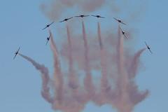 Snowbirds_7507 (Mike Head - Jetwashphotos) Tags: usa oregon america us break or airshow hillsboro snowbirds hio khio 431squadron