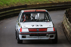 Doune Hill Climb (<p&p>photo) Tags: auto uk classic car sport club race climb scotland championship automobile track hill historic september reid motor peugeot hillclimb motorsport lothian 205 doune 733 2014 peugeot205 dounehillclimb worldcars lothiancarclub allanreid september2014