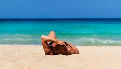 Relax (minuano12) Tags: espaa fuerteventura playa canarias aurora verano vacaciones corralejo laoliva 0062