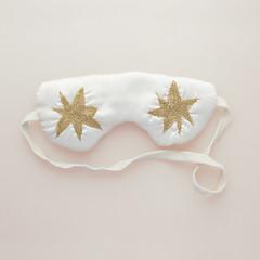 Flimsymoon and Daisy Sheldon 'Etoille' eye mask - Kickstarter pledge gift (AlexandraCabrer) Tags: fashion canon studio stars 50mm mask embroidery lingerie gift lenceria estrellas pledge eyemask bordado productphotography 600d kickstarter crowdfunding daisysheldon flimsymoon