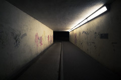 IMG_3191 (jpnapper) Tags: night canon dark underpass subway graffiti angle grunge wide 1018 vignetting vignette poole grungy broadstone 10mm