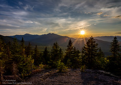 Everything I Need... (photoMakak) Tags: sunset mountains clouds canon unitedstates hiking newhampshire whitemountains nh nuages canonef1740mmf4lusm coucherdesoleil montagnes shelburne 6d randonne moriah peakbagging nh48 ne111 canon6d ne100 ne4000 ne67 photomakak