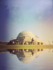 Adler Planetarium (tycampbe) Tags: camera new travel chicago abstract art illinois phone fine explore popular textured creations iphone constant 500px iphoneography ifttt mextures weare500px 500pxchi2014