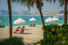 Relax (*HYP) Tags: sea beach dubai jetty palmtrees unitedarabemirates oneonly