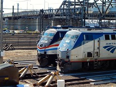 Amtrak P42DC #102, P40DC #822 And GP40H #522 (thomas_lenhart) Tags: new haven amtrak ge phaseiii generalelectric p42dc heritageunit p40dc gp40h