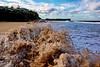 Near Miss (Patrick Begbie) Tags: beach sand sydney australia nsw newsouthwales roughseas warriewoodbeach sydneysbestbeaches