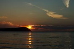 Dinas head sunset.. (AJFpicturestore) Tags: sunset wales pembrokeshire nationalgeographic newportbay sunsetoverwater eveningwalks dinashead alanfoster