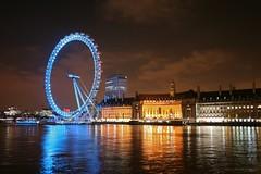 London_Eye_at_night_2 (scott_allan_slifer) Tags: thegherkin londonskyline londonuk londonatnight scottallenslifer loribarbourslifer