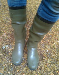AgBeK0115 (Lisban2009) Tags: wellies rubberboots gummistiefel creased