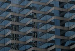 Zigzag Reflections (pruse) Tags: city blue toronto ontario canada color colour reflection window architecture design nikon engineering zig zigzag zag eseries 438university