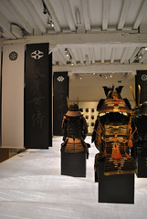 Samurai Exhibition, Nantes, France (Tiphaine Rolland) Tags: france art japan nikon brittany bretagne exhibition exposition armor samurai 1855mm calligraphy 1855 katana japon nantes samourai armure calligraphie châteaudesducsdebretagne samouraï d3000 bushidô nikond3000