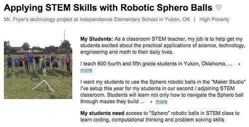 Applying STEM Skills with Robotic Sphero by Wesley Fryer, on Flickr