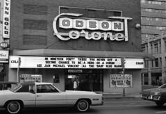 Scan10308cgssh (citatus) Tags: odeon coronet theatre yonge street gerrard toronto canada 1976 minolta srt 102 movie cinema film theater