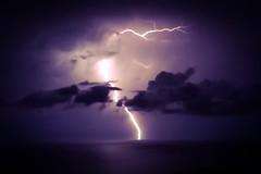 Ibiza. Lightning. iPhone 5s (CatMilton) Tags: espaa spain mediterranean ibiza lightning lightening eivissa baleares iphone balearics