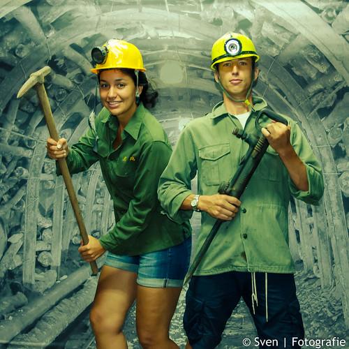 Sven & Fida in de mijnen