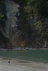 Baista (Oscar F. Hevia) Tags: ocean cliff beach water mar sand agua paradise asturias playa arena naturalparadise heavenly acantilado asturies bather ofh baista principadodeasturias paradisaco paradisiacal parasonatural luia sotodeluia playadesanpedrodebocamar sanpedrodeluia