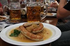 Beer and sauerkraut, Stuttgart!