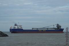 Beltnes (Moldovia) Tags: sea boat ship vessel cargo northsea ag pointandshoot 2009 pointshoot bulkcarrier antiguabarbuda beltnes fujifilmfinepixhs50exr imo9432206 mmsi305426000 callsignv2eg7