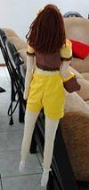 Minha Tilda Moderninha (Artesanatos by Janet) Tags: pano bermuda boneca bolsa tilda moderna cabelos