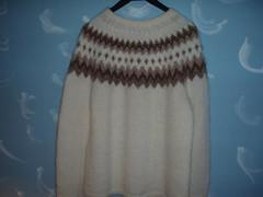 Icelandic wool sweater (Mytwist) Tags: wool fashion fetish iceland sweater warm sweaters style passion jumper knitted isle pullover icelandic lopi handknitted wolle knitwear pulli jaquard icelandicsweater tradera peysa lopapeysa slensk lopapeysur lettlopi peysu woolfetish hunnebo pltulopi handgestrickt istex icelnder lapapeysa lopapeysunni teddi45662