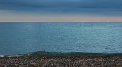 186 Newcastle 280714 wide (Philip D Ryan) Tags: ireland sunset clouds twilight surf wave eveninglight breakingwave newcastlebeach irishsea countywicklow shinglebeach