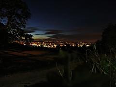 Sheffield night lights (jayneyyy) Tags: city trees light tree beautiful beauty field silhouette night dark lights evening streetlight pretty dusk sheffield yorkshire southyorkshire