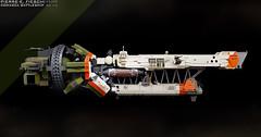 COMARCA CLASS BATTLESHIP (Pierre E Fieschi) Tags: art lego pierre contest micro spaceship fi concept battleship sci 2014 microspace comarca fieschi microscale microspacetopia pierree shiptember