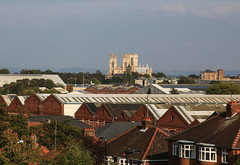 York Minster from Holgate Windmill, September 2014