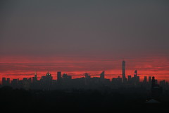 sunsetsep29_14 (8) (ShellyS) Tags: nyc newyorkcity sunset skyline manhattan skylines sunsets queens
