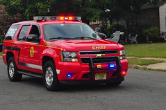 Freehold Fire Department Chief 1 (Triborough) Tags: newjersey gm chief hamilton nj tahoe firetruck fireengine mercercounty ffd chevolet hamiltontownship chiefscar chief1 freeholdfiredepartment