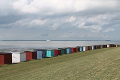 Many huts in a row (Snowlike96) Tags: canon huts northsea nordsee htten