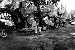 Ravanwaala (Rk Rao) Tags: street people india blackwhite delhi vision morningglory newdelhi masterpiece rkrao morningcanon magicunicornmasterpiece titarpurtagoregarden ravanawaala