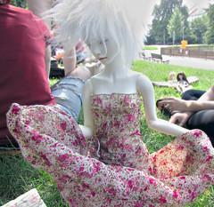 picnic summer impression (tarengil) Tags: trip summer hot detail nature fashion clothing doll sd luv dreamy bjd abjd outing dollmore zaoll