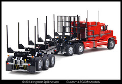 PICT05 (2LegoOrNot2Lego) Tags: wheel truck star us big king suspension rig western load mack bunk global solid fifth peterbilt kenworth axle lode bolster freightliner